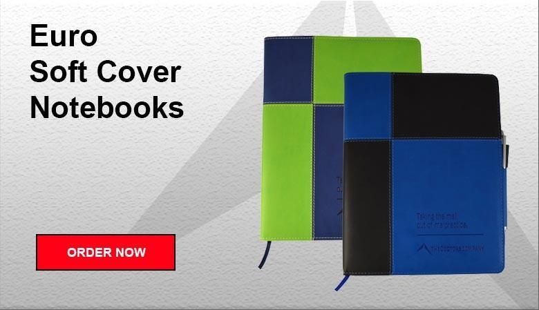 Euro Soft Cover Notebooks